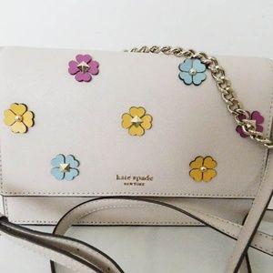 KATE SPADE Cameron Spade Flower Convertible Bag